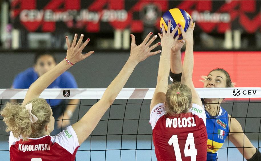 Reprezentacja Polski w siatkówce kobiet przegrała mecz o trzecie miejsce mistrzostw Europy /TOLGA BOZOGLU /PAP/EPA