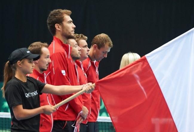 Reprezentacja Polski w tenisie /Adam Warżawa /PAP