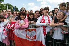 Reprezentacja Polski zameldowała się we Wrocławiu