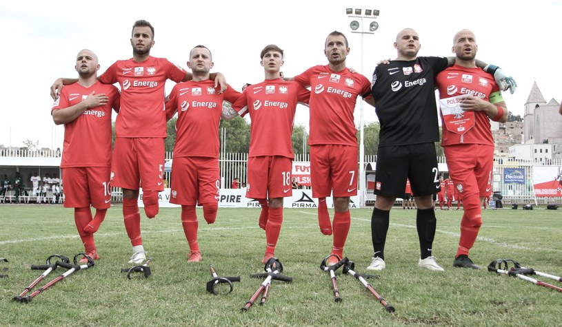 Reprezentacja Polski /Ampfutbol Polska /materiały prasowe