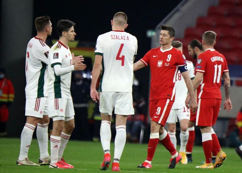 Reprezentacja Polski /AFP/AFP PETER KOHALMI/ /AFP