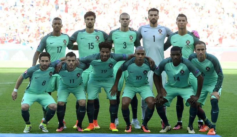 Reprezentacja Portugalii podczas Euro /AFP