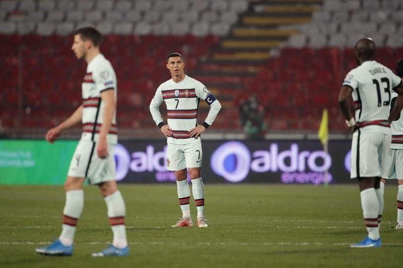 Reprezentacja Portugalii /AFP/AFP PEDJA MILOSAVLJEVIC/ /AFP