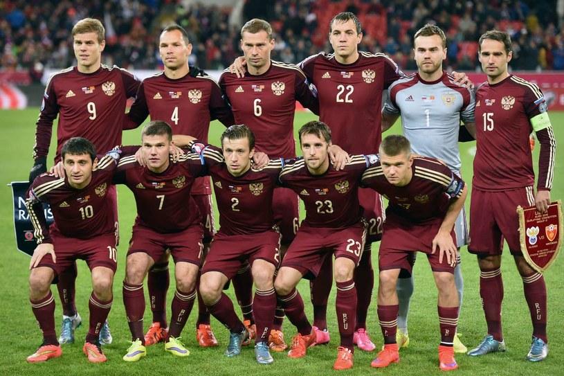 Reprezentacja Rosji /AFP