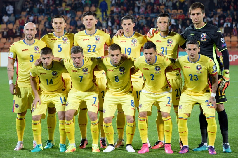 Reprezentacja Rumunii /AFP