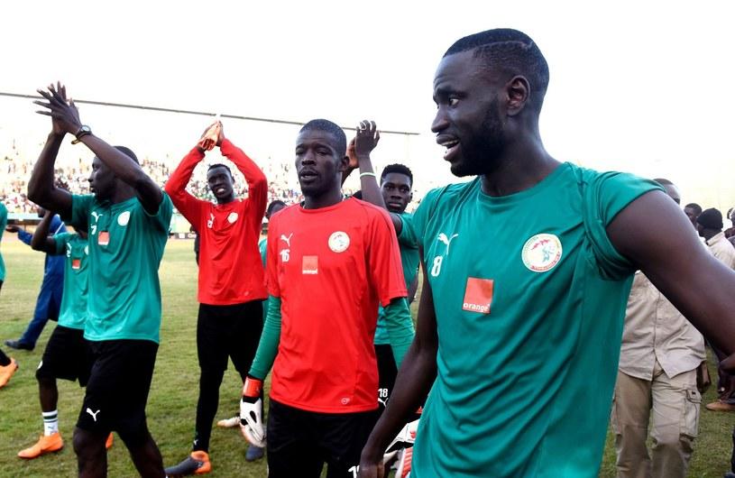 Reprezentacja Senegalu /AFP