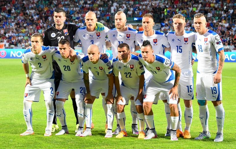 Reprezentacja Słowacji /AFP