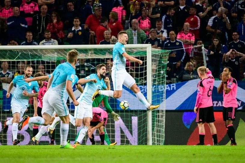 Reprezentacja Słowenii /AFP