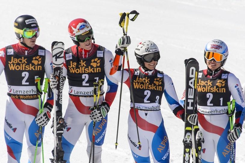 Reprezentacja Szwajcarii okazała się najlepsza w Lenzerheide /AFP