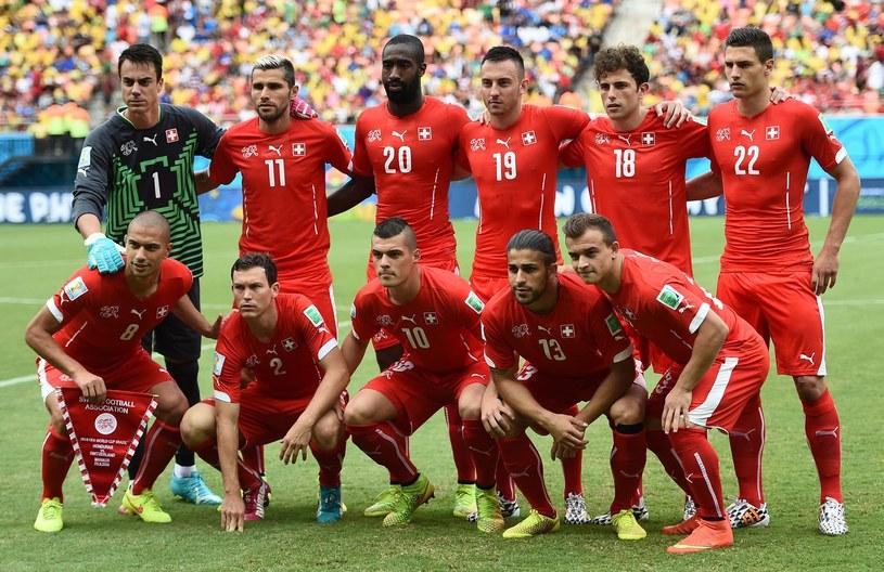 Reprezentacja Szwajcarii /AFP
