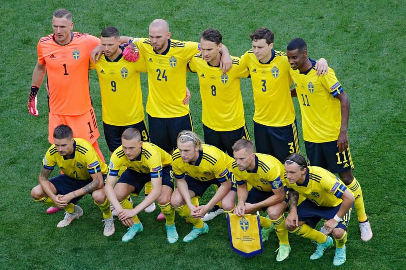 Reprezentacja Szwecji przed meczem z Słowacją /ANTON VAGANOV  /East News