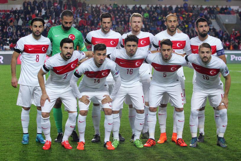 Reprezentacja Turcji /AFP