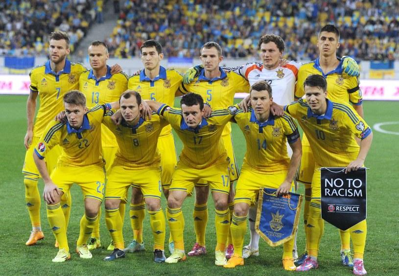 Reprezentacja Ukrainy /AFP