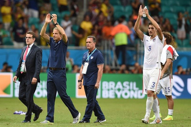 Reprezentacja USA pod wodzą Juergena Klinsmanna dotarła do 1/8 finału MŚ /AFP