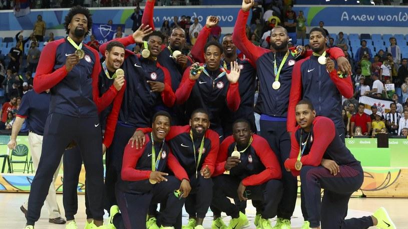 Reprezentacja USA w koszykówce /Reuters