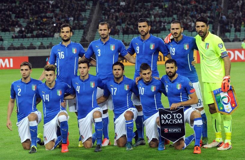 Reprezentacja Włoch /AFP