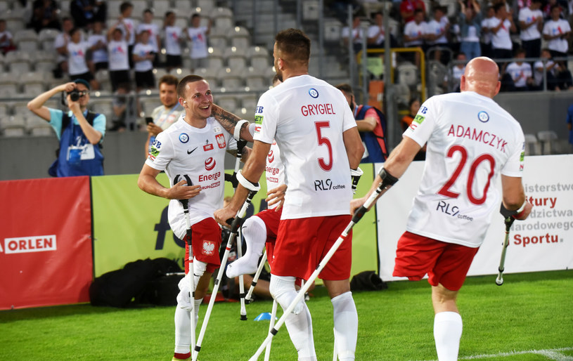 Reprezentanci Polski w amp futbolu /Marek Lasyk/REPORTER  /East News