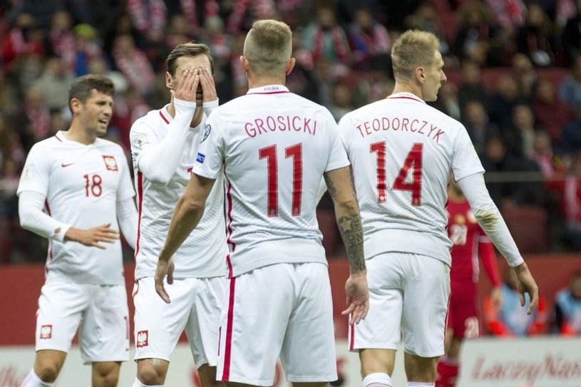 Reprezentanci Polski wygrali ostatnie oba mecze, ale ich forma zostawiała sporo do życzenia /Andrzej Iwańczuk /East News