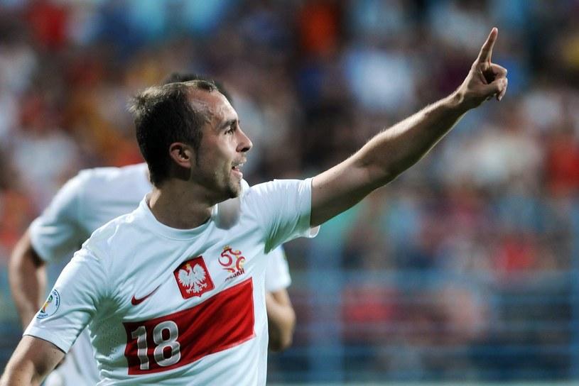 Reprezentant Polski - Adrian Mierzejewski /AFP