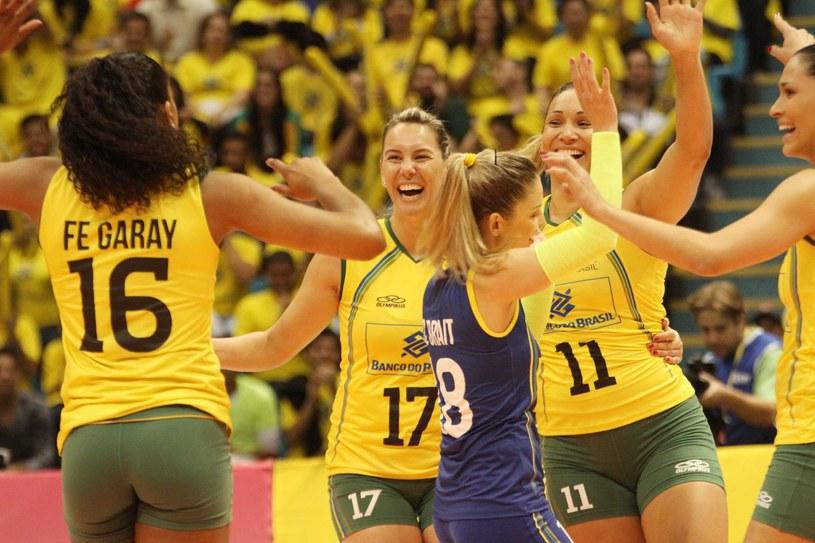 Reprezentantki Brazylii /www.fivb.org