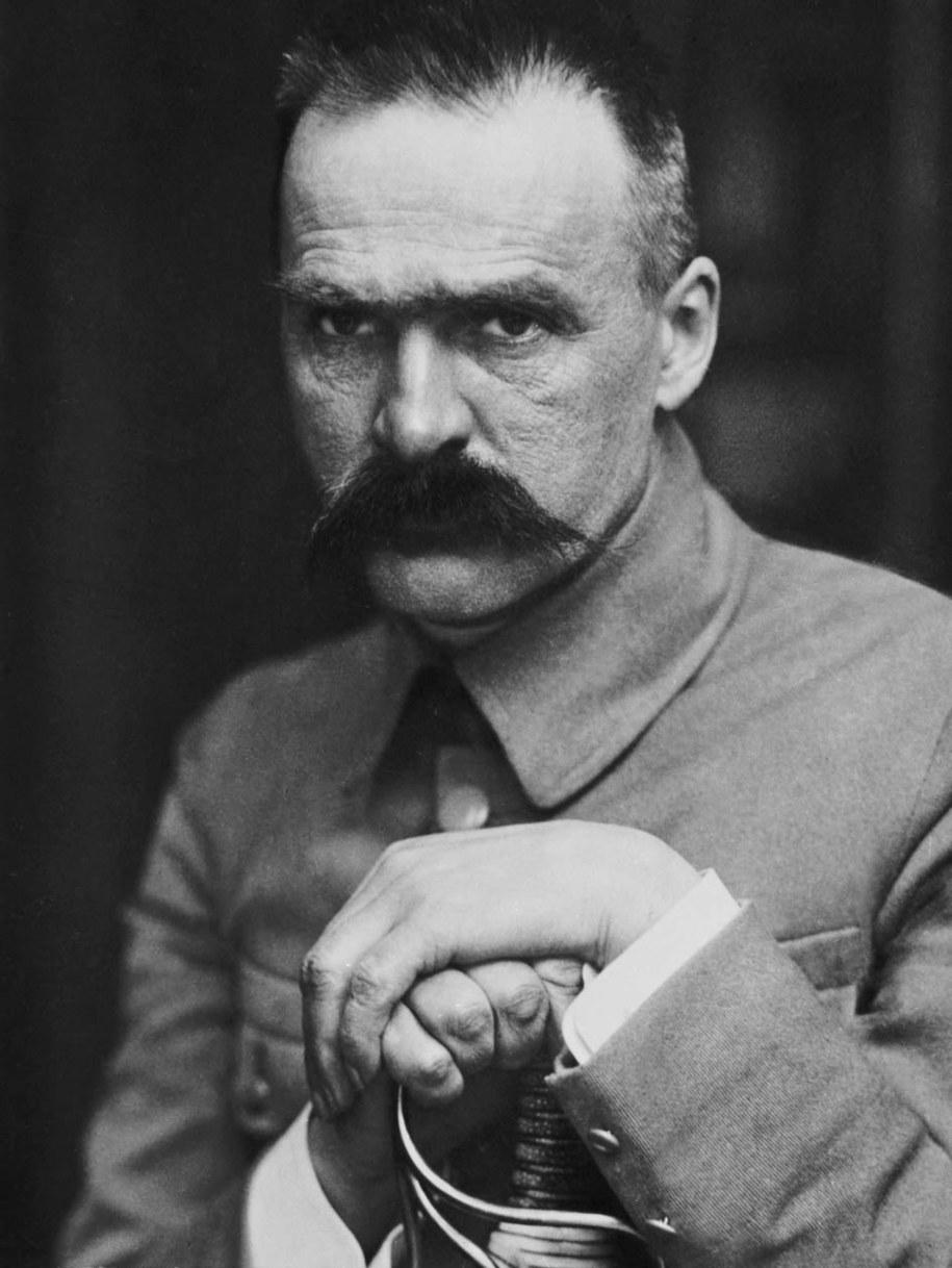 Reprodukcja portretu Marszałka Józefa Piłsudskiego /Reprodukcja: Jerzy Ochoński/PAI /PAP