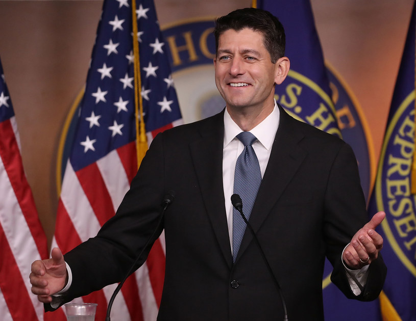 Republikański spiker Izby Reprezentantów Paul Ryan /AFP