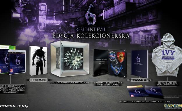 Resident Evil 6 w wersji kolekcjonerskiej /Informacja prasowa