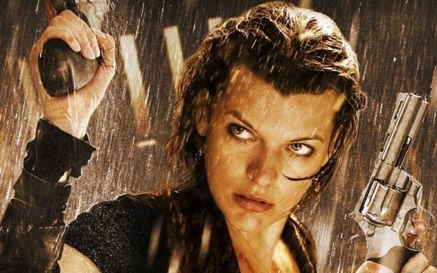 Resident Evil: Afterlife - motyw graficzny /Informacja prasowa