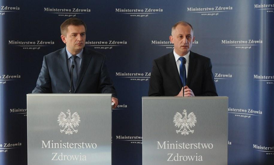 Resort zdrowia częściowo odpiera zarzuty NIK /Grzegorz Jakubowski /PAP