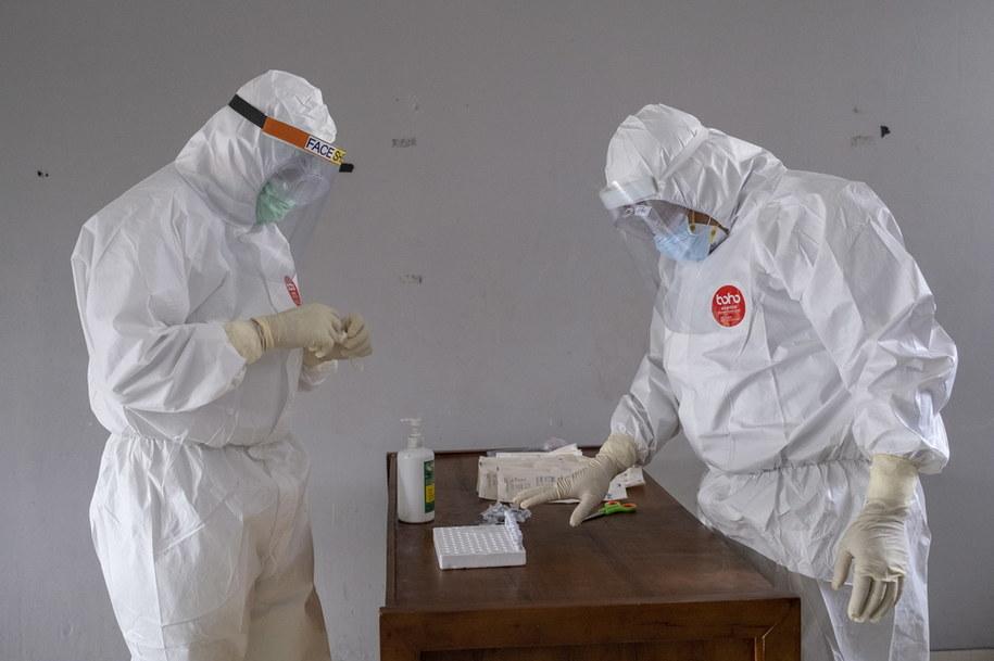 Resort zdrowia potwierdził nowe zakażenia koronawirusem w Polsce /MADE NAGI    /PAP/EPA