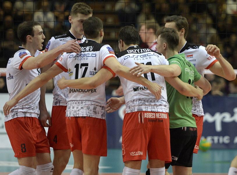 Resovia dwukrotnie wygrała z VfB Friedrichshafen /Fot. Darek Delmanowicz /PAP