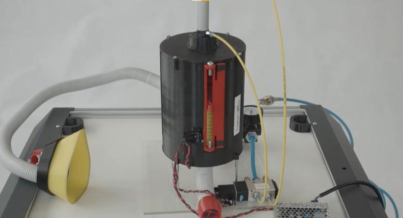 Respirator z drukarki 3D; zdj. ilustracyjne /YouTube