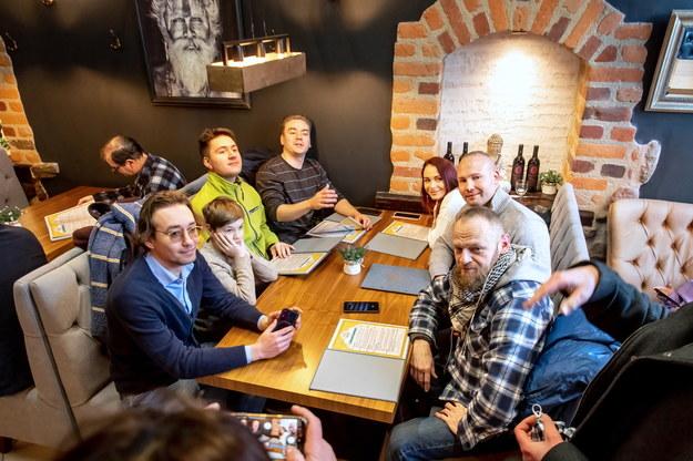 Restauracja na toruńskiej starówce otwarta mimo lockdownu /\Tytus Żmijewski /PAP