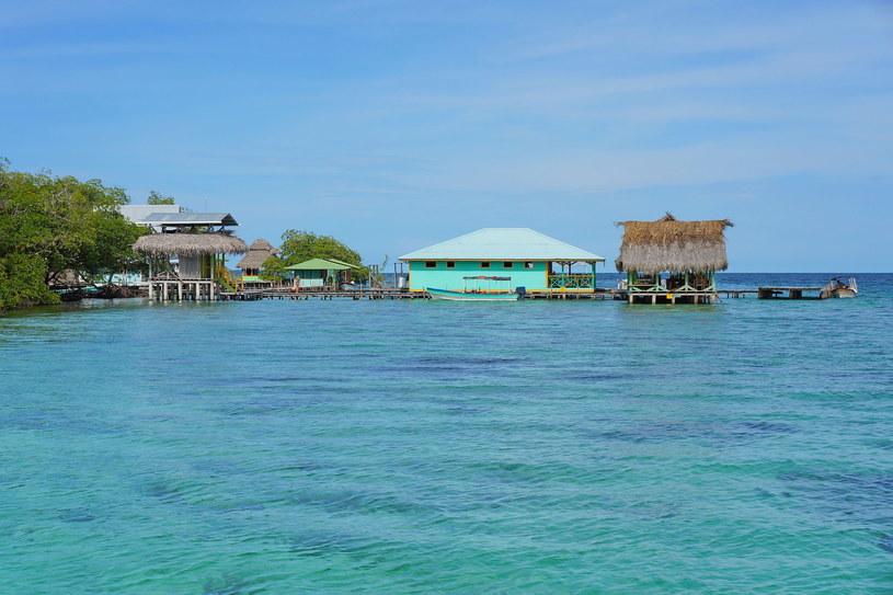 Restauracja na wodzie w archipelagu Bocas del Toro /123RF/PICSEL