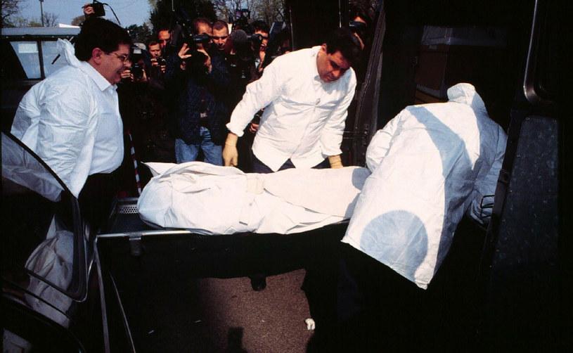 Retrospektywa morderstwa projektanta mody Maurizio Gucciego, fot. EPS /Rex Features/EAST NEWS