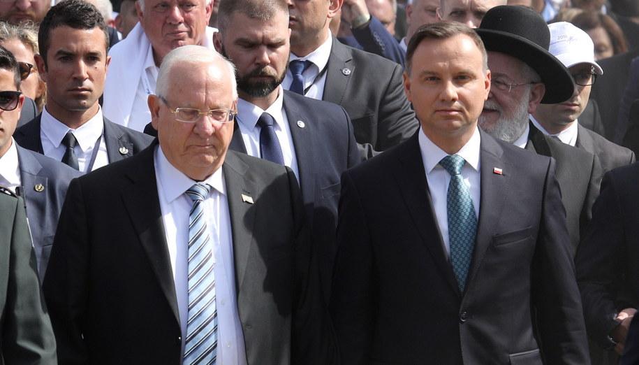 Reuven Riwlin /Stanisław Rozpędzik /PAP/EPA
