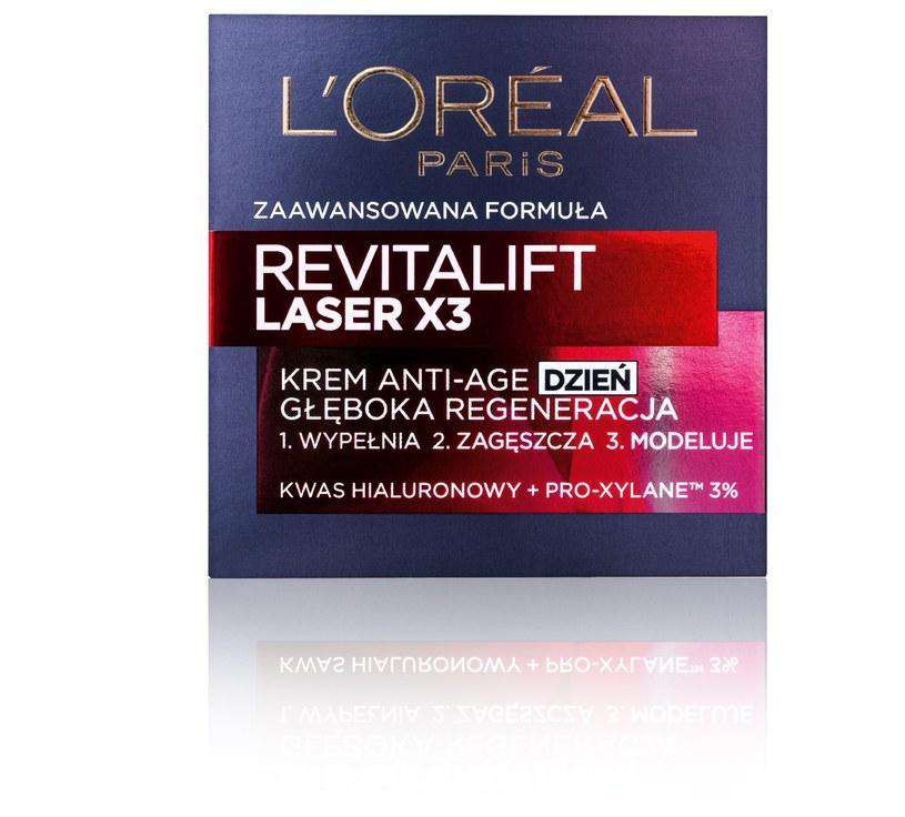 Revitalift Laser X3 krem na dzień /INTERIA/materiały prasowe