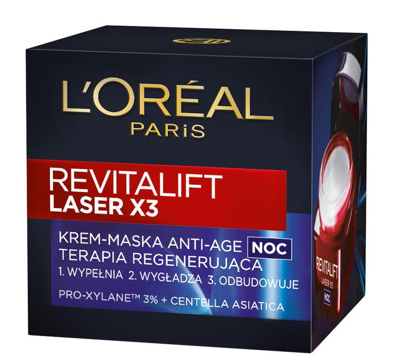 Revitalift Laser X3 w kremie-masce /materiały prasowe