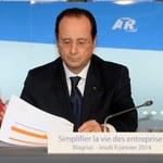 """Rewelacje o romansie. """"Atak na życie prywatne"""" Hollande'a"""