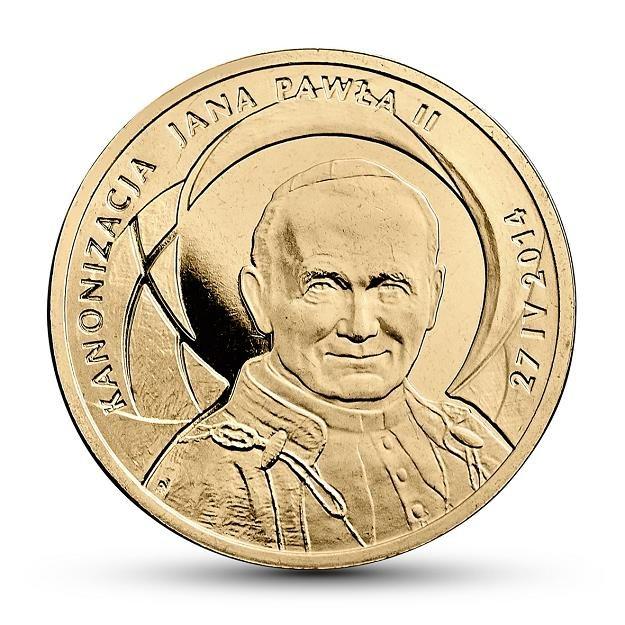 Rewers monety o nominale 2 zł /NBP