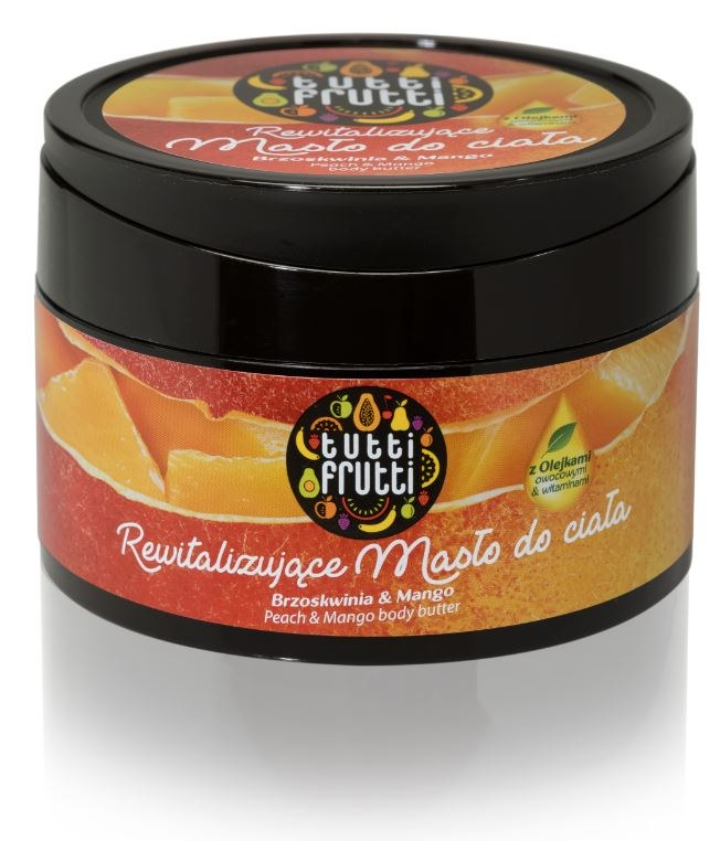 Rewitalizujące masło do ciała Brzoskwinia&Mango /INTERIA.PL/materiały prasowe