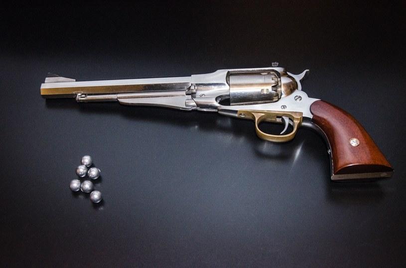 Rewolwer czarnoprochowy Remington New Model Army /Konrad Czopek /INTERIA.PL/materiały prasowe