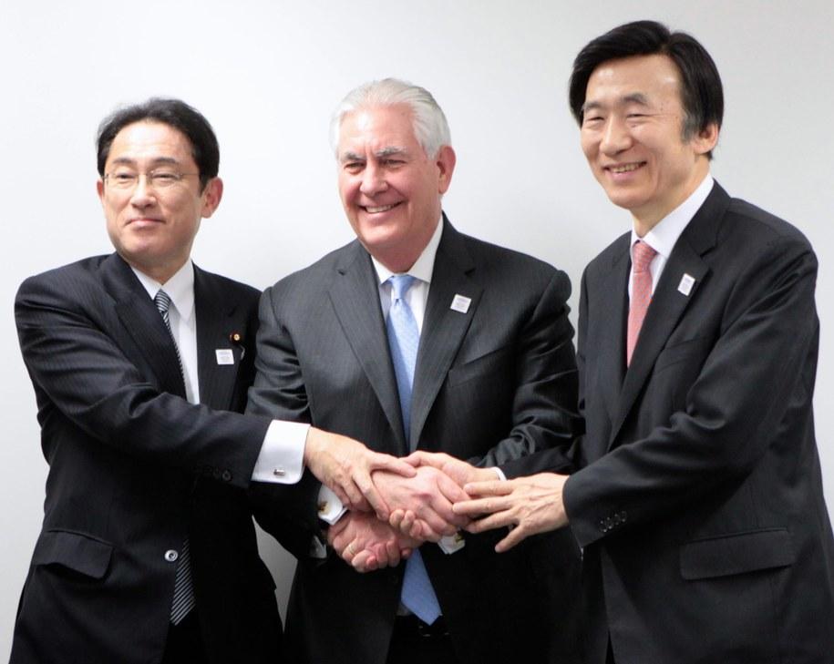 Rex Tillerson w trakcie Forum G20 w Bonn /EPA/US DEPARTMENT OF STATE HANDOUT /PAP/EPA