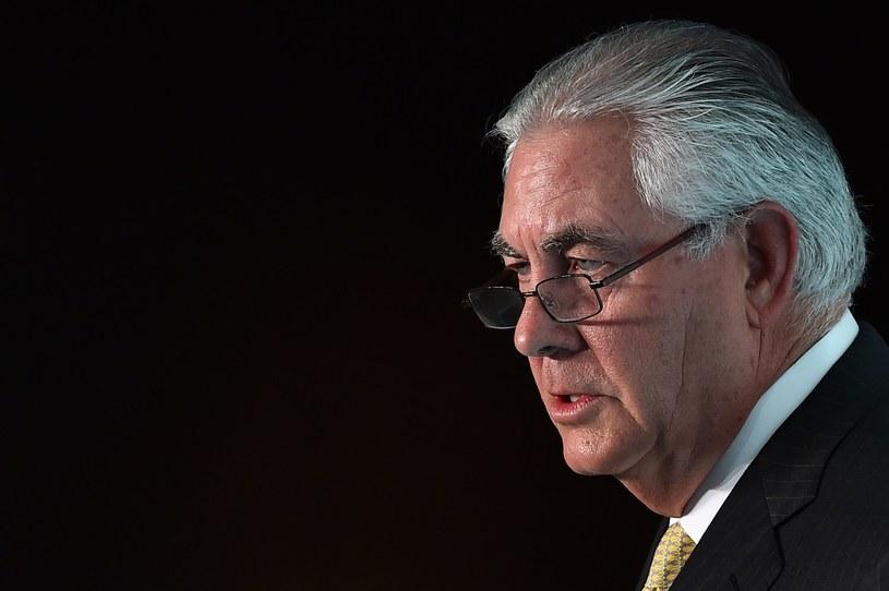 Rex Tillerson /BEN STANSALL /AFP