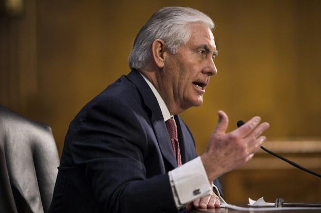 Rex Tillerson /JIM LO SCALZO /PAP/EPA
