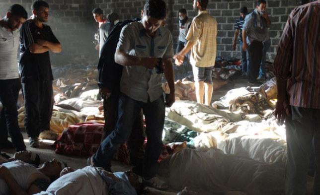 Reżim Baszara al-Asada zaprzecza jednak, jakoby użył broni chemicznej przeciw rebeliantom. /AFP