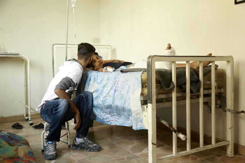 """""""Reżim syryjski wielokrotnie stosował gaz bojowy przeciwko własnemu narodowi"""" /AFP"""
