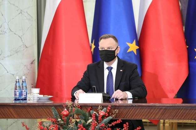 rezydent RP Andrzej Duda podczas uroczystości powołania 10-osobowej Rady ds. Rolnictwa i Obszarów Wiejskich / Leszek Szymański    /PAP
