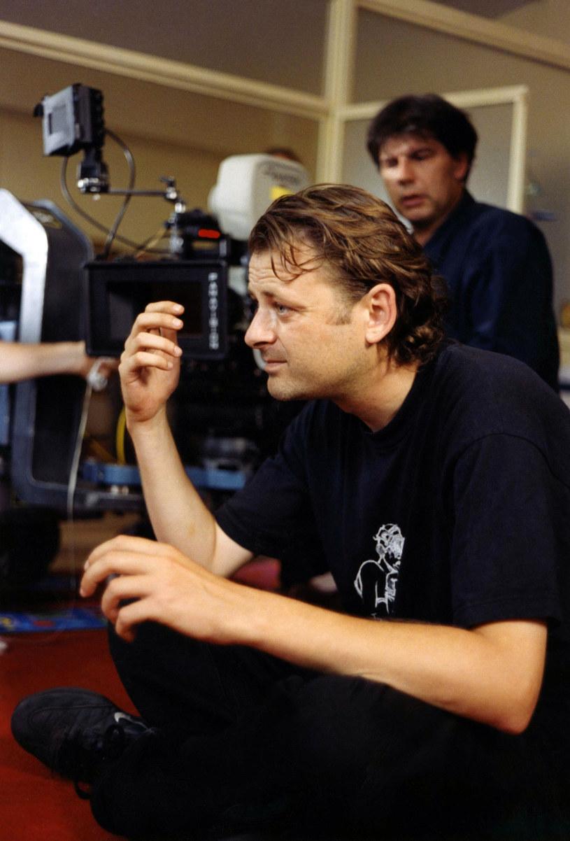 "Reżyser Christophe Ruggia na planie filmu ""Les diables"" /Collection Christophel /East News"