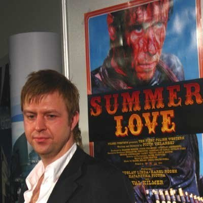 """Reżyser """"Summer love"""" Piotr Uklański /INTERIA.PL"""